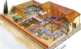 Οι κήποι στα αστικά σπίτια της αρχαιότητας
