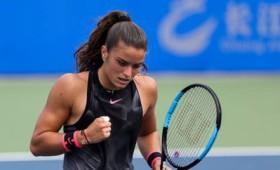 Ιστορική νίκη της Μαρίας Σάκκαρη στο τένις (vid)