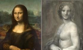 Η Μόνα Λίζα γυμνή και η Μόνα Λίζα ντυμένη