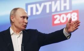 Συντριπτική νίκη Πούτιν στις ρωσικές εκλογές