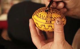 Το πασχαλινό αυγό ως έργο τέχνης (video)