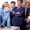 Φανερή η εχθρότητα Τραμπ-Μέρκελ στη σύνοδο των G7