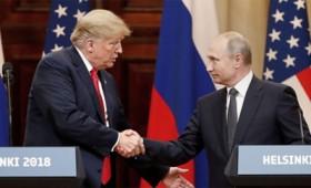 Ιστορική συνάντηση των προέδρων Τραμπ και Πούτιν στο Ελσίνκι (vid)