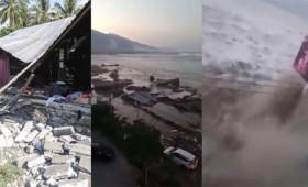 Τσουνάμι ύψους 2 μέτρων χτυπά την Ινδονησία (vid)