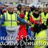 Κίτρινα Γιλέκα: Νέο ραντεβού για την τελική επίθεση (vid)