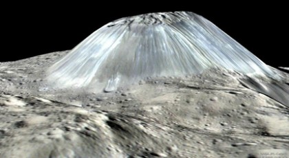 Ahuna Mons: Ένα βουνό που η ανθρωπότητα δεν έχει ξαναδεί (vid)