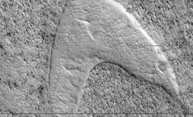 Το λογότυπο του Star Trek στην επιφάνεια του Άρη (vid)