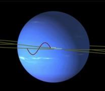 Ο περίτεχνος χορός των δορυφόρων του Ποσειδώνα