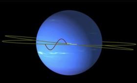 Ο περίτεχνος χορός των δορυφόρων του Ποσειδώνα (vid)