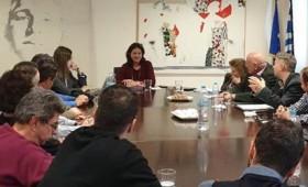 Συνάντηση του ΔΣ των Ιδιωτικών Εκπαιδευτικών με τη Νίκη Κεραμέως