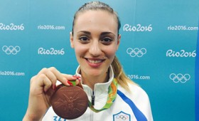 Άννα Κορακάκη: το πρώτο μετάλλιο για την Ελλάδα