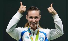 Χρυσό μετάλλιο στο Ρίο για την Άννα Κορακάκη!