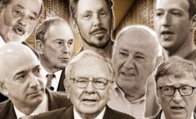 Οκτώ άνθρωποι κατέχουν τόσα χρήματα όσα η μισή ανθρωπότητα
