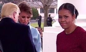 Το γεμάτο πίκρα πρόσωπο της Μισέλ Ομπάμα (vid)