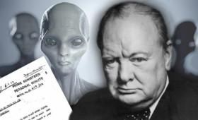 Το δοκίμιο του Τσώρτσιλ για τους εξωγήινους