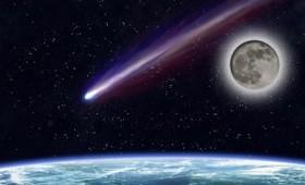 Μια έκλειψη, το φεγγάρι του χιονιού κι ένας κομήτης