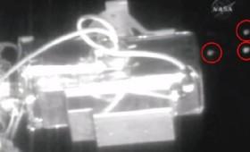 Έξι UFO επισκέπτονται τον Διεθνή Διαστημικό Σταθμό