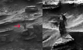 Μια γυναίκα περπατά ολομόναχη στον Άρη! (vid)