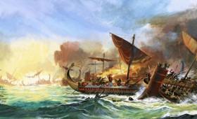 Υποβρύχια έρευνα για τη ναυμαχία της Σαλαμίνας