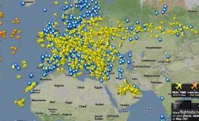 Οι πτήσεις των αεροπλάνων σε πραγματικό χρόνο