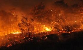 Ξέσπασε πάλι φωτιά στο νέο φρούριο της Κέρκυρας