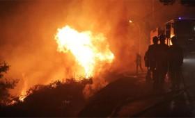 Πύρινη κόλαση στη Ζάκυνθο με 11 μέτωπα φωτιάς (vid)