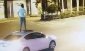 Βίντεο με μεθυσμένο Κινέζο οδηγό έγινε viral