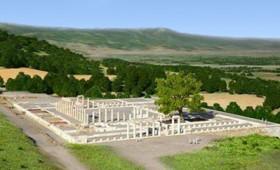 Αποκατάσταση του ανακτόρου της αρχαίας Πέλλας