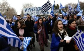 Πάνω από 500.000 στο Συλλαλητήριο της Θεσσαλονίκης