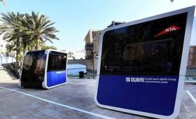 Ντουμπάι: Ηλεκτροκίνητα λεωφορειάκια χωρίς οδηγό