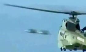 Δίδυμα UFO μπροστά από ελικόπτερο της γαλλικής ακτοφυλακής (vid)