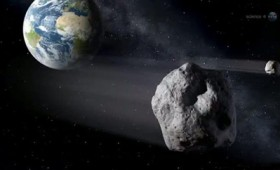 Αστεροειδής πέρασε ξυστά από τη Γη (vid)