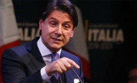 Ιταλία: Εντολή σχηματισμού κυβέρνησης στον Κόντε