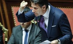 Φλογερή ομιλία Κόντε στην ιταλική Γερουσία (vid)