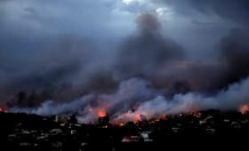 Η τραγική ιστορία της 13χρονης που καιγόταν από τη φωτιά
