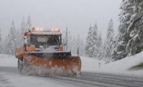 Χιονίζει στη βόρεια Ιταλία και στην Αυστρία (vid)