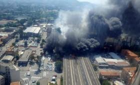 Μπολόνια: έκρηξη σε αυτοκινητόδρομο με δύο νεκρούς (vid)