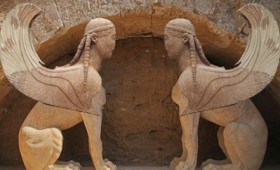 Αμφίπολη: Το ταφικό μνημείο άνοιξε για δεκάδες επισκέπτες (vid)