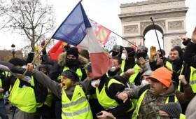 Τα Κίτρινα Γιλέκα ξανά στους δρόμους για 28η εβδομάδα