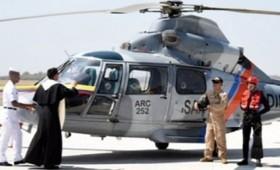 Αγιασμός πόλης από ελικόπτερο κατά της βίας και των ναρκωτικών