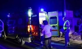 Σοκαριστικό τροχαίο στην Εγνατία Οδό: Όχημα έπεσε πάνω σε πεζούς