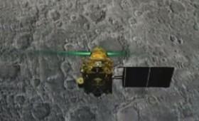 Το διαστημόπλοιο της Ινδίας χάθηκε στο δρόμο προς τη Σελήνη (vid)