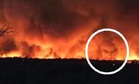 Το πρόσωπο του Διαβόλου στις φωτιές της Αυστραλίας