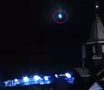 Ο μετεωρίτης με το παράξενο γαλάζιο φως (vid)