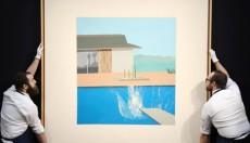 """Ο πίνακας """"The Splash"""" του Ντέιβιντ Χόκνυ πωλήθηκε 35,5 εκατομμύρια (vid)"""