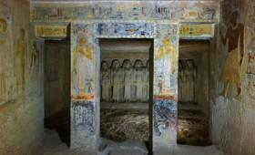 Virtual tour στον τάφο της βασίλισσας της Αιγύπτου Μερεσάνκ ΙΙΙ