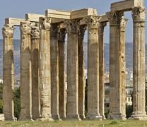 Ο Ναός του Ολυμπίου Διός και τα εγκαίνιά του από τον Αδριανό