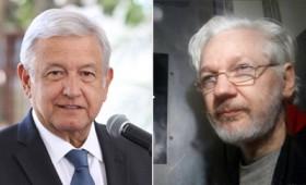 Ο πρόεδρος του Μεξικού προσφέρει άσυλο στον Τζούλιαν Ασάνζ (vid)