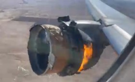 Είχαν άγιο: Φλεγόμενο αεροπλάνο προσγειώθηκε στο Ντένβερ (vid)