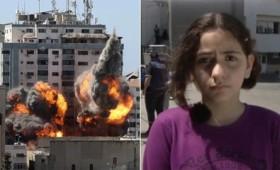 10χρονη Παλαιστίνια: «Δεν είναι δίκαιο. Κανείς δεν είναι ασφαλής στην Παλαιστίνη